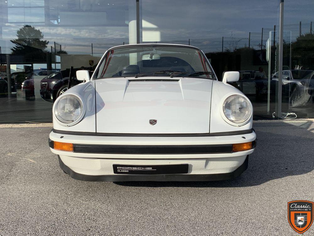 Porsche 911 SC Cabriolet 1983 Européenne